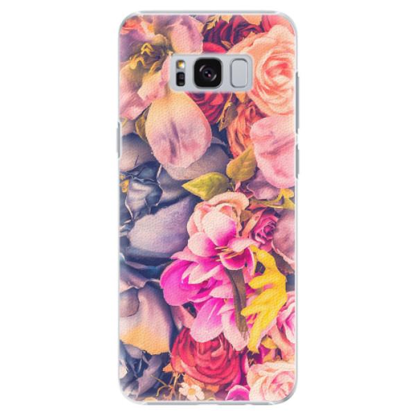 Plastové pouzdro iSaprio - Beauty Flowers - Samsung Galaxy S8