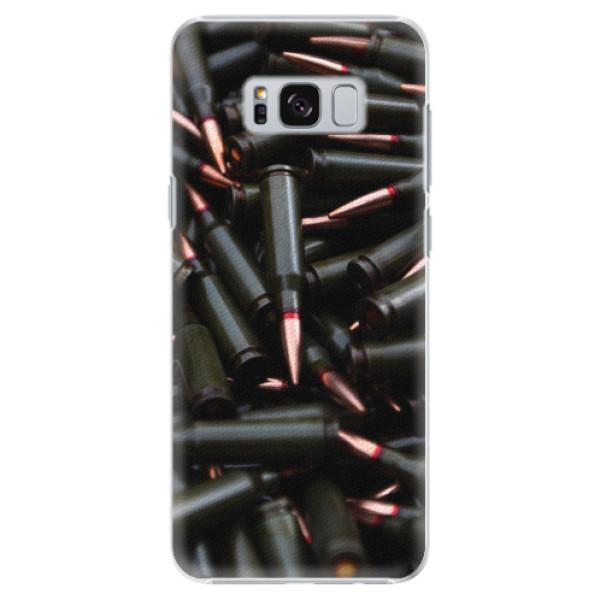 Plastové pouzdro iSaprio - Black Bullet - Samsung Galaxy S8
