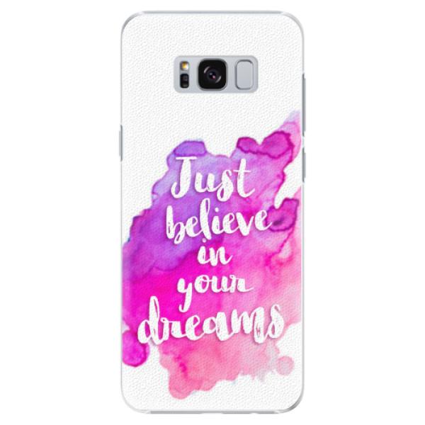 Plastové pouzdro iSaprio - Believe - Samsung Galaxy S8