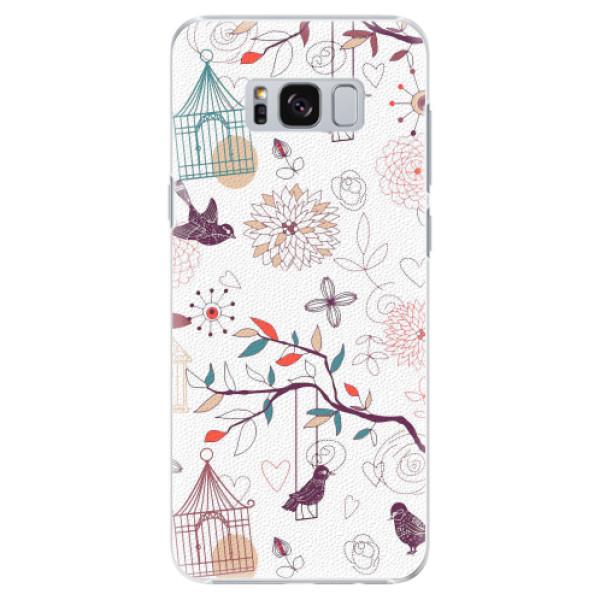 Plastové pouzdro iSaprio - Birds - Samsung Galaxy S8