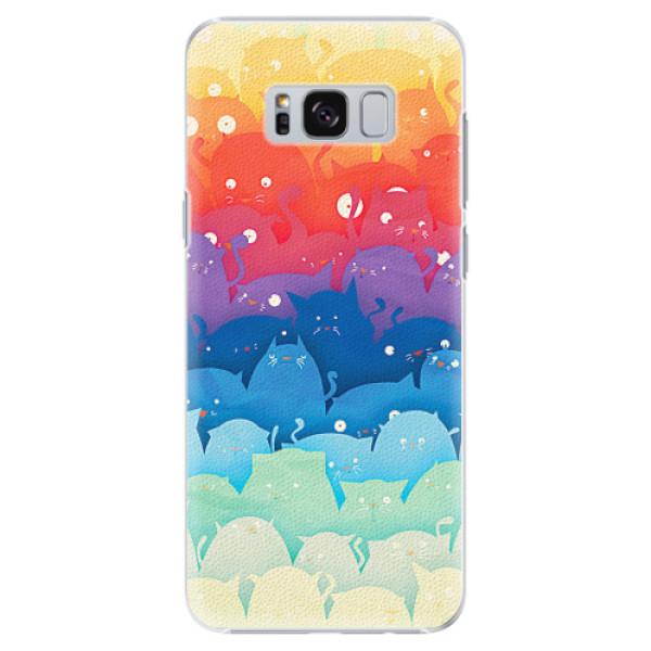 Plastové pouzdro iSaprio - Cats World - Samsung Galaxy S8