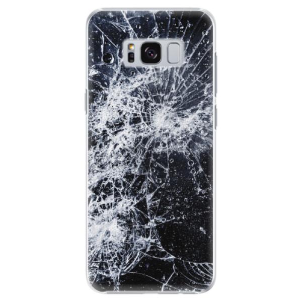 Plastové pouzdro iSaprio - Cracked - Samsung Galaxy S8 Plus