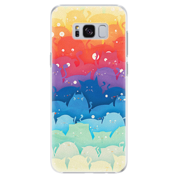 Plastové pouzdro iSaprio - Cats World - Samsung Galaxy S8 Plus