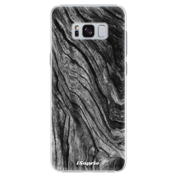 Plastové pouzdro iSaprio - Burned Wood - Samsung Galaxy S8 Plus