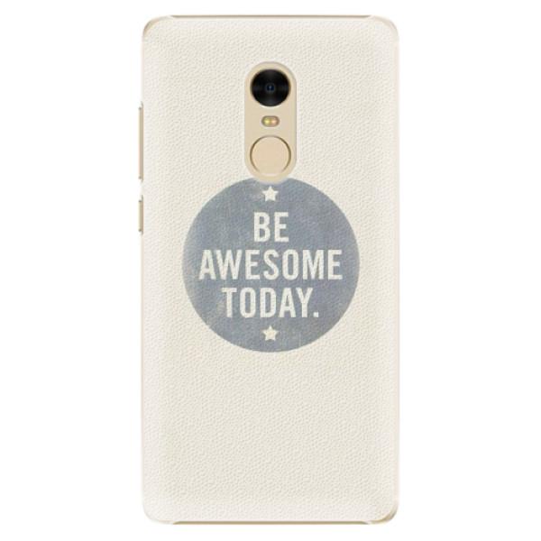 Plastové pouzdro iSaprio - Awesome 02 - Xiaomi Redmi Note 4