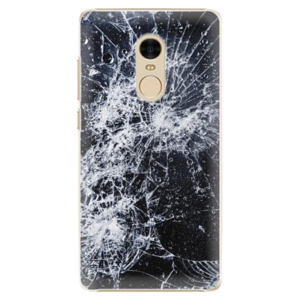Plastové pouzdro iSaprio - Cracked - Xiaomi Redmi Note 4