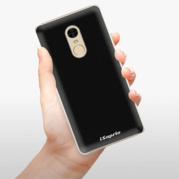 Plastové pouzdro iSaprio - 4Pure - černý - Xiaomi Redmi Note 4