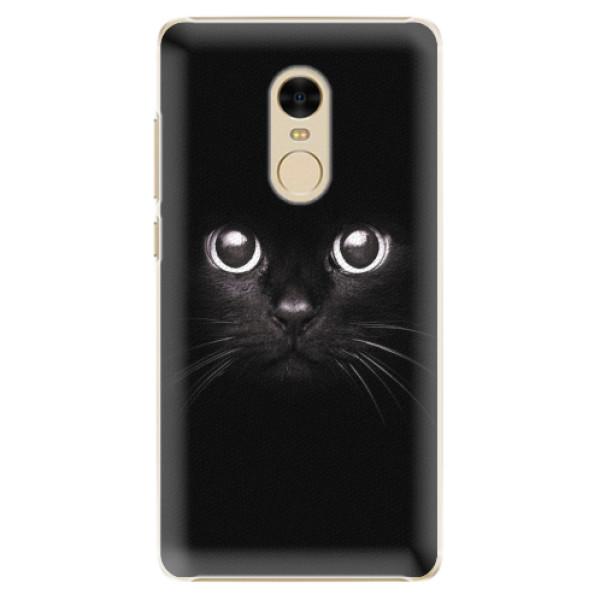 Plastové pouzdro iSaprio - Black Cat - Xiaomi Redmi Note 4