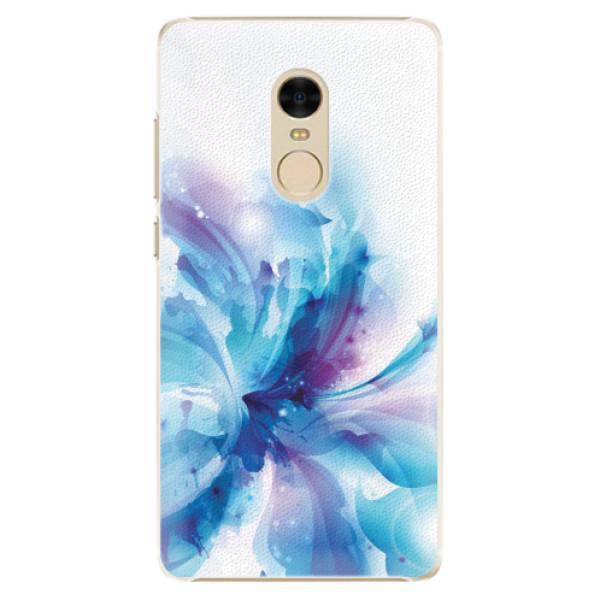Plastové pouzdro iSaprio - Abstract Flower - Xiaomi Redmi Note 4