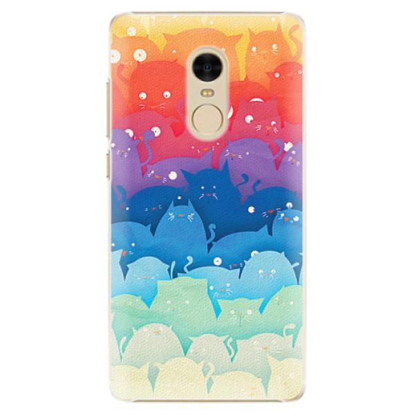 Plastové pouzdro iSaprio - Cats World - Xiaomi Redmi Note 4