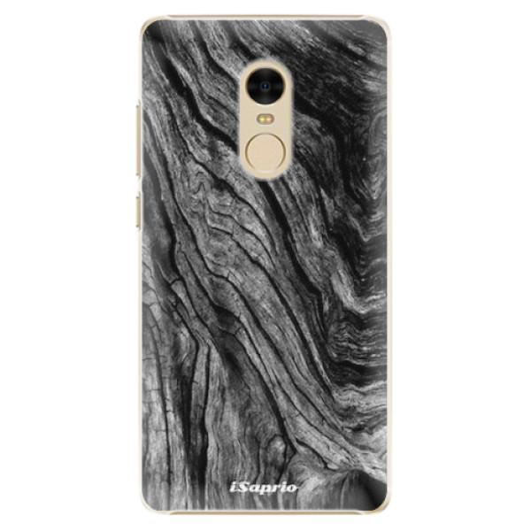 Plastové pouzdro iSaprio - Burned Wood - Xiaomi Redmi Note 4
