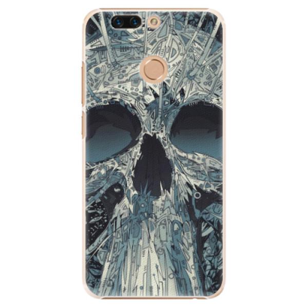 Plastové pouzdro iSaprio - Abstract Skull - Huawei Honor 8 Pro