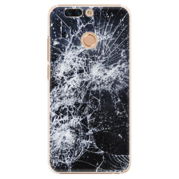 Plastové pouzdro iSaprio - Cracked - Huawei Honor 8 Pro