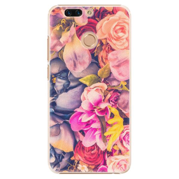 Plastové pouzdro iSaprio - Beauty Flowers - Huawei Honor 8 Pro