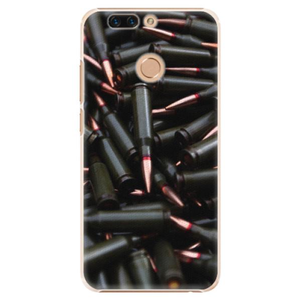 Plastové pouzdro iSaprio - Black Bullet - Huawei Honor 8 Pro