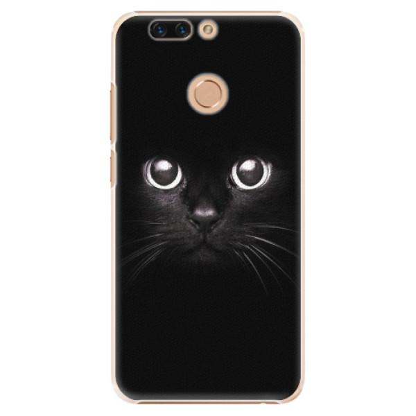 Plastové pouzdro iSaprio - Black Cat - Huawei Honor 8 Pro