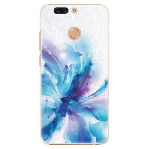Plastové pouzdro iSaprio - Abstract Flower - Huawei Honor 8 Pro