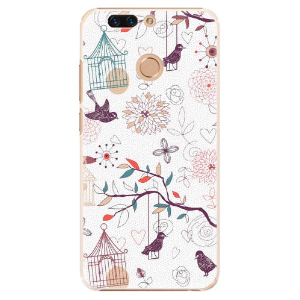 Plastové pouzdro iSaprio - Birds - Huawei Honor 8 Pro