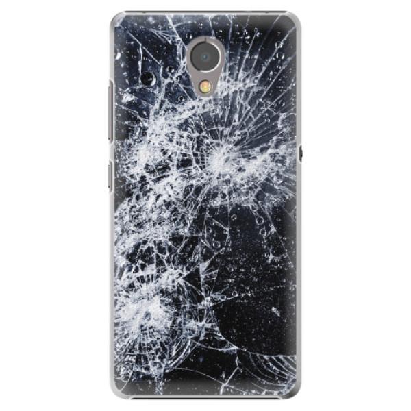 Plastové pouzdro iSaprio - Cracked - Lenovo P2