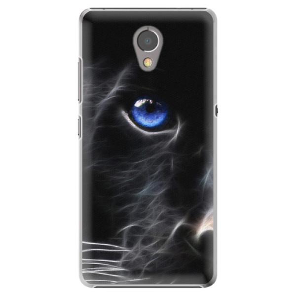 Plastové pouzdro iSaprio - Black Puma - Lenovo P2