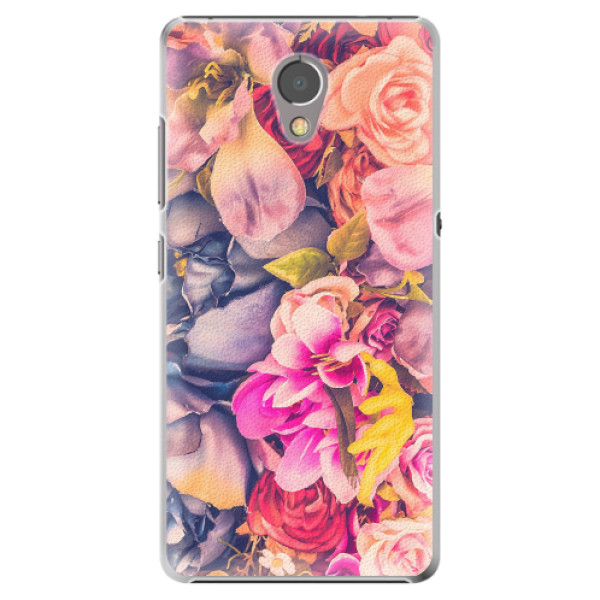 Plastové pouzdro iSaprio - Beauty Flowers - Lenovo P2