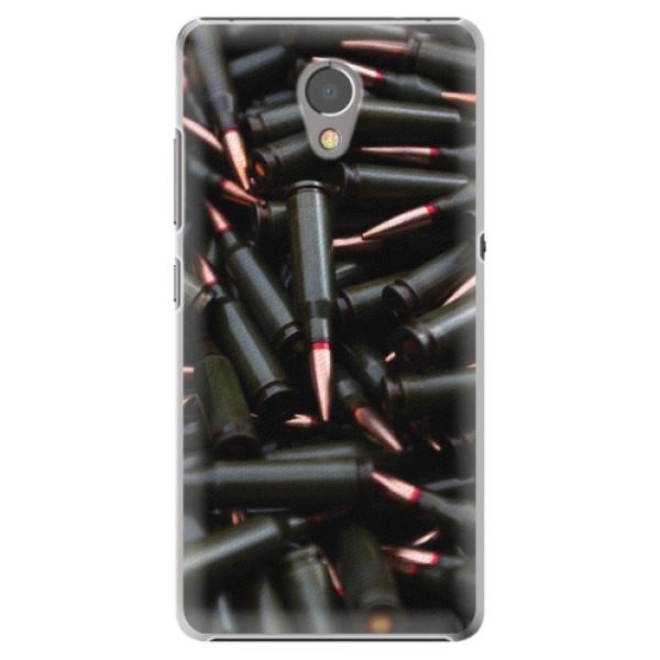 Plastové pouzdro iSaprio - Black Bullet - Lenovo P2