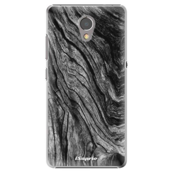 Plastové pouzdro iSaprio - Burned Wood - Lenovo P2