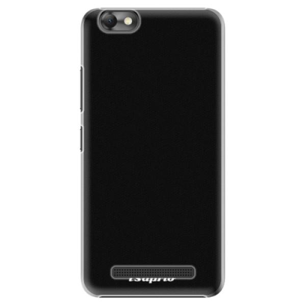 Plastové pouzdro iSaprio - 4Pure - černý - Lenovo Vibe C