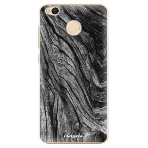 Plastové pouzdro iSaprio - Burned Wood - Xiaomi Redmi 4X