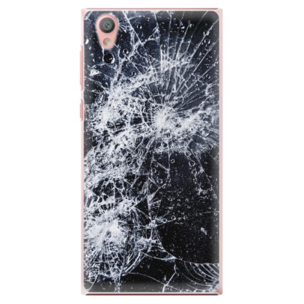 Plastové pouzdro iSaprio - Cracked - Sony Xperia L1