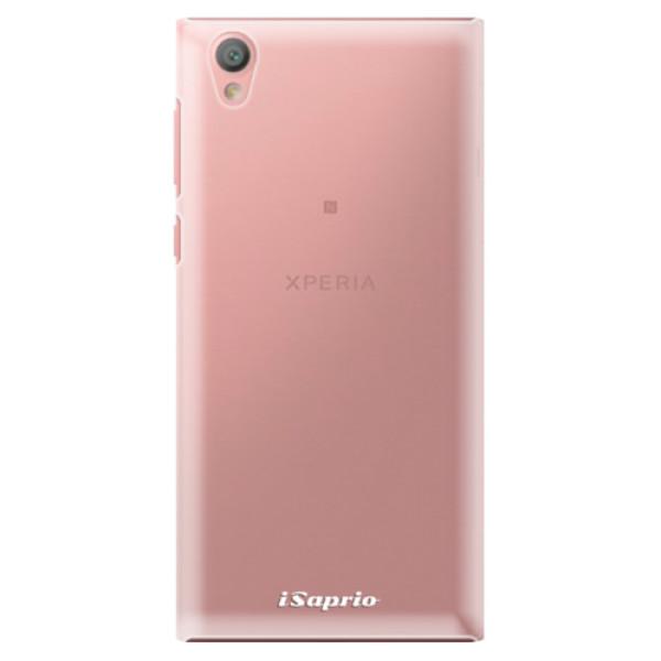 Plastové pouzdro iSaprio - 4Pure - mléčný bez potisku - Sony Xperia L1