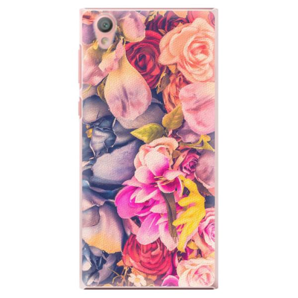 Plastové pouzdro iSaprio - Beauty Flowers - Sony Xperia L1