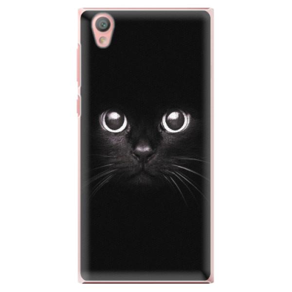 Plastové pouzdro iSaprio - Black Cat - Sony Xperia L1