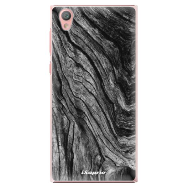 Plastové pouzdro iSaprio - Burned Wood - Sony Xperia L1