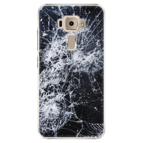 Plastové pouzdro iSaprio - Cracked - Asus ZenFone 3 ZE520KL