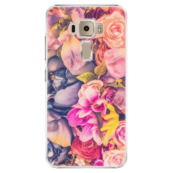 Plastové pouzdro iSaprio - Beauty Flowers - Asus ZenFone 3 ZE520KL