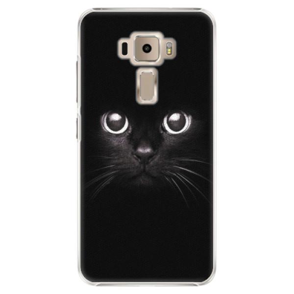 Plastové pouzdro iSaprio - Black Cat - Asus ZenFone 3 ZE520KL
