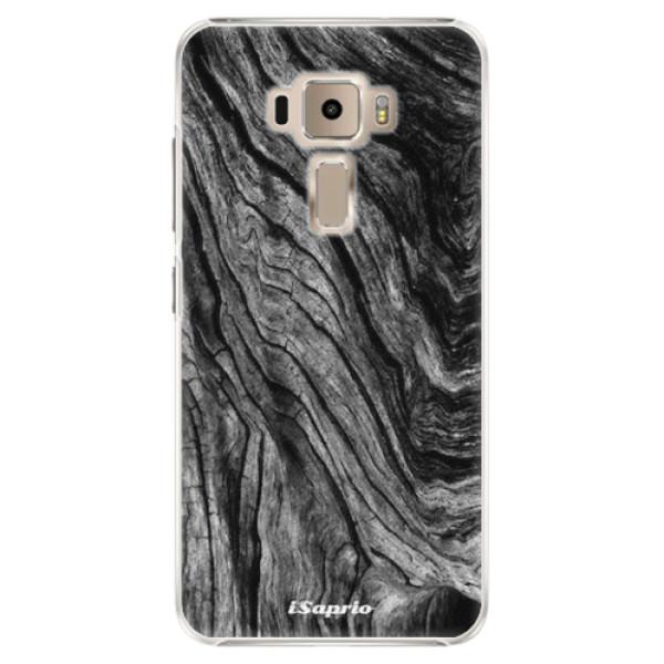 Plastové pouzdro iSaprio - Burned Wood - Asus ZenFone 3 ZE520KL