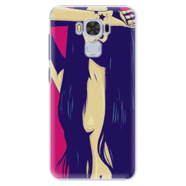 Plastové pouzdro iSaprio - Cartoon Girl - Asus ZenFone 3 Max ZC553KL