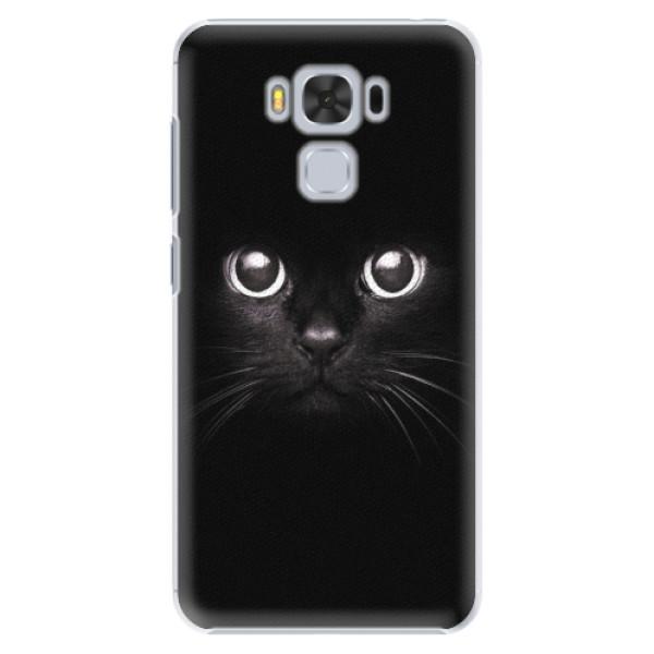Plastové pouzdro iSaprio - Black Cat - Asus ZenFone 3 Max ZC553KL