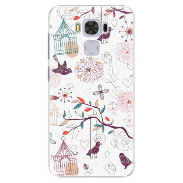 Plastové pouzdro iSaprio - Birds - Asus ZenFone 3 Max ZC553KL