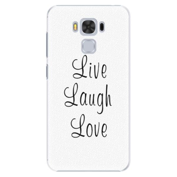 Plastové pouzdro iSaprio - Live Laugh Love - Asus ZenFone 3 Max ZC553KL