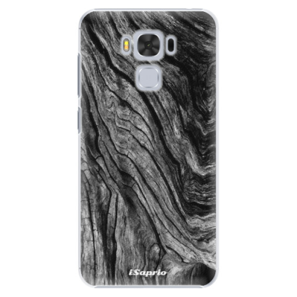 Plastové pouzdro iSaprio - Burned Wood - Asus ZenFone 3 Max ZC553KL