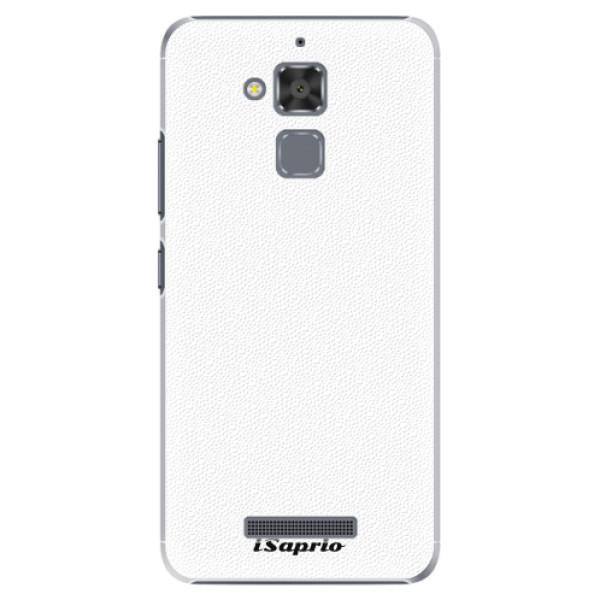 Plastové pouzdro iSaprio - 4Pure - bílý - Asus ZenFone 3 Max ZC520TL