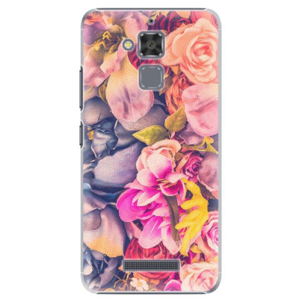Plastové pouzdro iSaprio - Beauty Flowers - Asus ZenFone 3 Max ZC520TL
