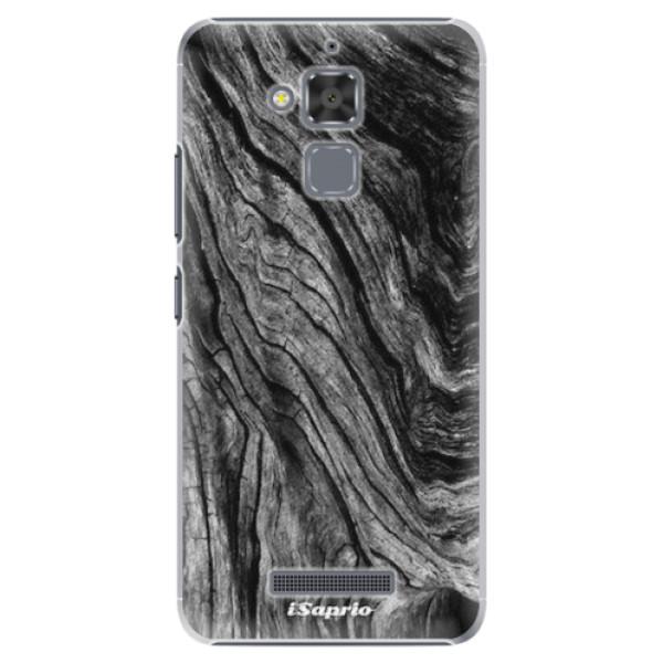 Plastové pouzdro iSaprio - Burned Wood - Asus ZenFone 3 Max ZC520TL