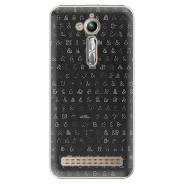 Plastové pouzdro iSaprio - Ampersand 01 - Asus ZenFone Go ZB500KL