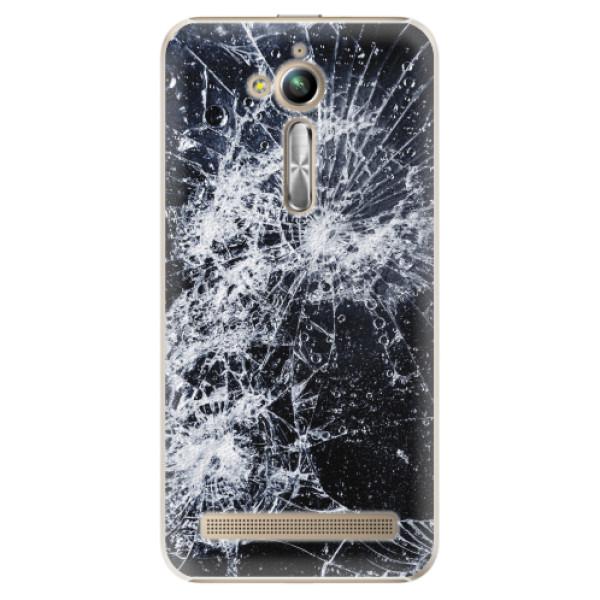 Plastové pouzdro iSaprio - Cracked - Asus ZenFone Go ZB500KL