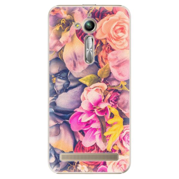 Plastové pouzdro iSaprio - Beauty Flowers - Asus ZenFone Go ZB500KL