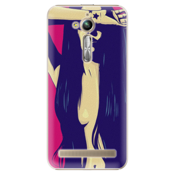 Plastové pouzdro iSaprio - Cartoon Girl - Asus ZenFone Go ZB500KL
